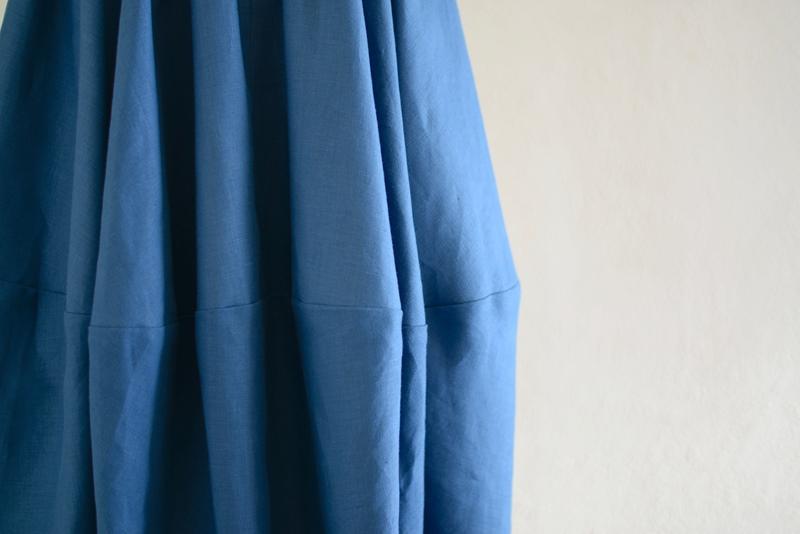 バレルスカートSlate Blue2