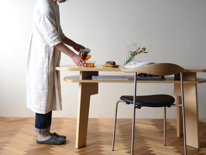 下 収納 テーブル