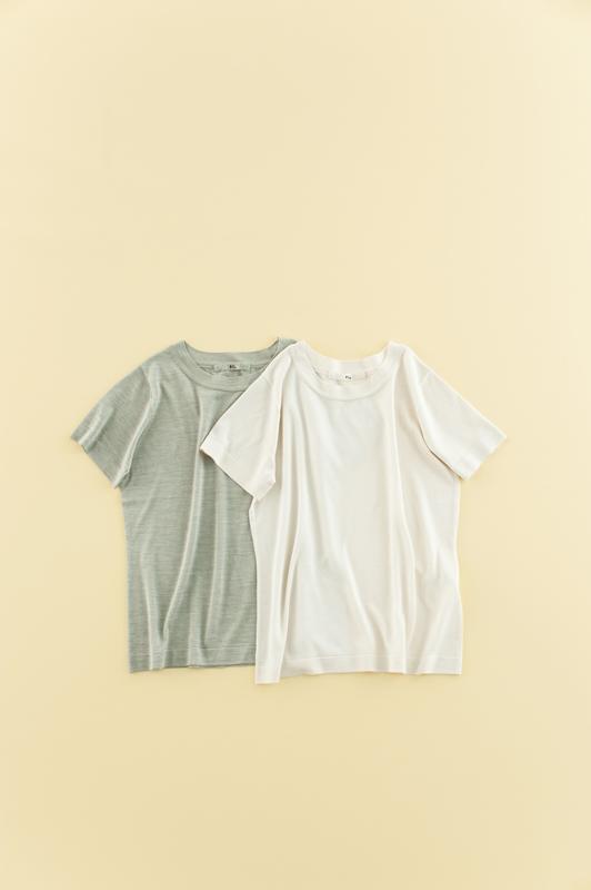 otona45R シルクTシャツ